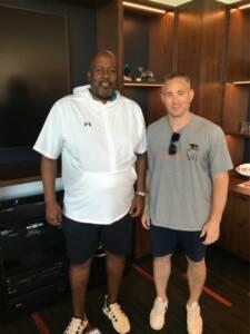 Coach Locksley and Zvi